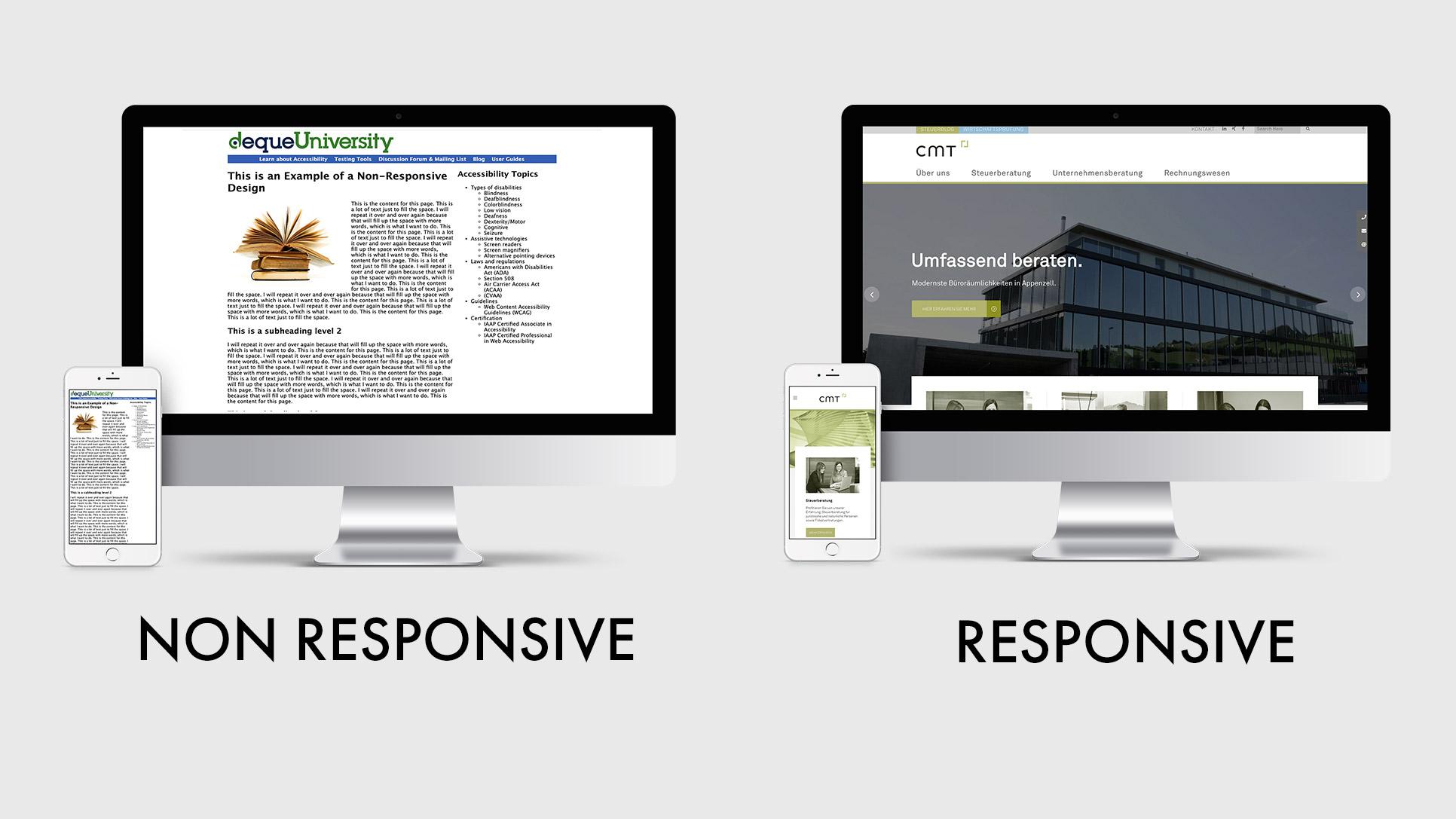 Yunikon respnsive webdesign